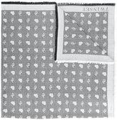 Twin-Set jacquard logo scarf - women - Viscose - One Size