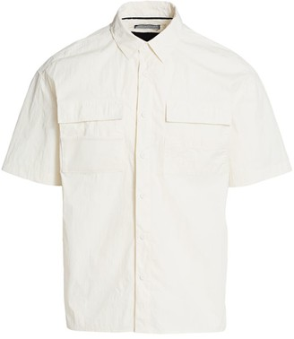 Madison Supply Utility Mesh Pocket Shirt