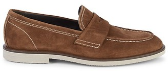 Bruno Magli Hoover Suede Penny Loafers