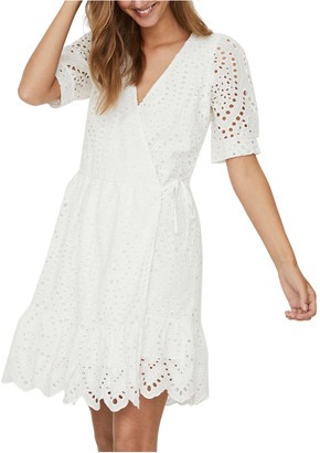 Vero Moda Therese Short Wrap Dress