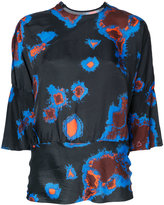 Theatre Products abstract print blouse - women - Cupro - One Size