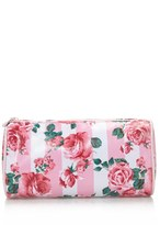 Forever 21 FOREVER 21+ Rose Print Cosmetic Pouch