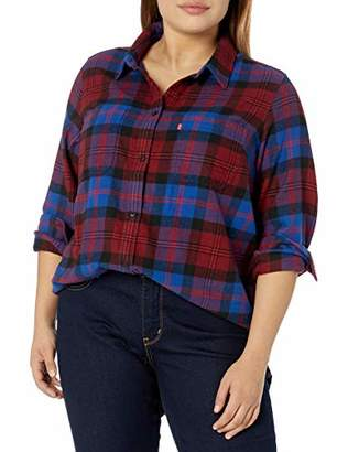 Levi's Women's Plus-Size Autumn BF Shirt