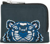 Kenzo Tiger zip-around wallet
