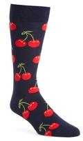 Happy Socks Men's Cherry Socks