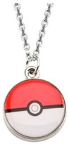 "Pokemon Pokeball Enamel Pendant with Chain (18"" + 2"" ext.)"