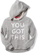 Old Navy Relaxed French-Terry Graphic Hoodie for Girls