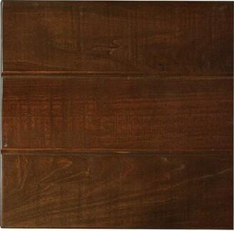 Longshore Tides Mari Rustic Console Table Color: Antique Black