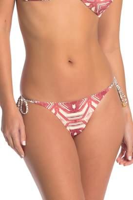 Dolce Vita Side Tie Cheeky Bikini Bottoms