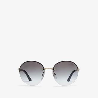 Prada 0PR 68VS (Pale Gold/Dark Grey) Fashion Sunglasses
