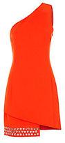 Barbara Bui Cady One Shoulder Grommet Dress