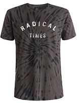 Quiksilver Men's Radical Tie Short Sleeve T-Shirt