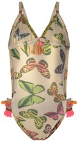 Pate De Sable Gold Butterfly Swimsuit