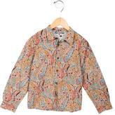 Bonpoint Boys' Paisley Print Button-Up Shirt