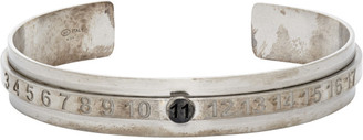 Maison Margiela Silver Buratto Bangle Bracelet