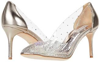 Badgley Mischka Ginata (Champagne) Women's Shoes