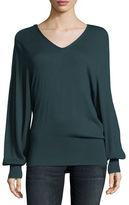 Splendid Harrow V-Neck Pullover Sweater