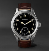 Montblanc - Summit 46mm Titanium And Leather Smartwatch
