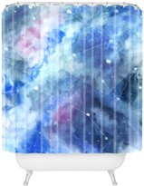 Deny Designs Wonder Forest Connecting Stars Shower Curtain