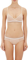 Sloane & Tate Women's Buckingham Cotton-Blend Soft Bra