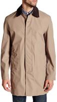Barbour Coat with Hidden Button Closure