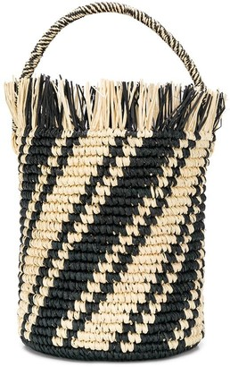 Sensi Striped Bucket Bag