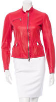 Jil Sander Leather Moto Jacket