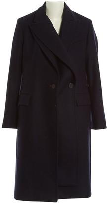 Eudon Choi Navy Wool Coats