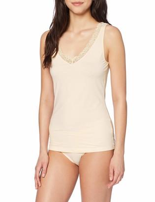 Hanro Women's Cotton Lace Top Undershirt