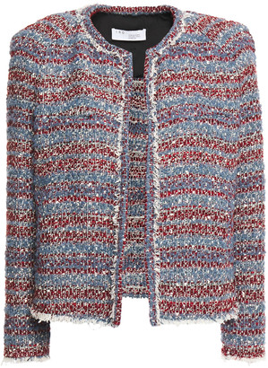 IRO Sign Frayed Boucle-tweed Jacket