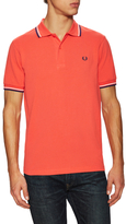 Fred Perry Striped Trim Pique Polo