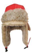 Poivre Blanc Chapka Faux Fur Hat