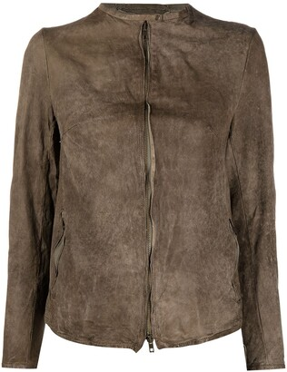 Salvatore Santoro Zip-Fastening Collarless Jacket