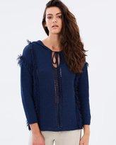 Moon River Tasseled Knit Jumper