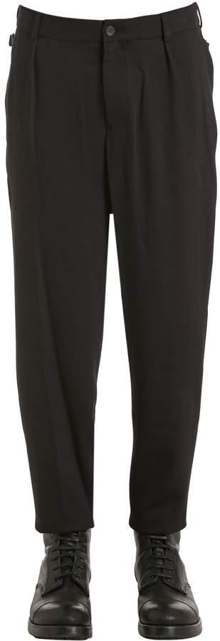 Damir Doma 17cm Virgin Wool Crepe Pants