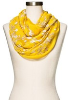 Merona Fashion Scarves Floral Gold