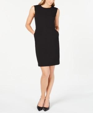 Anne Klein Twill Sheath Dress