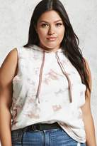Forever 21 Plus Size Sleeveless Hoodie