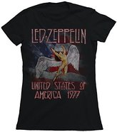 FEA Juniors Led Zeppelin America 1977 Tissue Tee