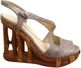 Prada Blue Heels