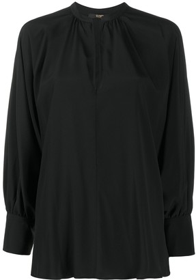 Seventy V-Neck Long-Sleeve Blouse