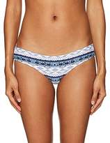 Rip Curl Women's Native Heart Reversible Basic Bikini Bottom