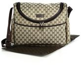 Gucci GG Canvas Diaper Bag