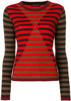 Etro illusion sweater - women - Wool - 40