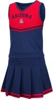 Colosseum Girls Youth Navy Arizona Wildcats Pinky Cheer Dress