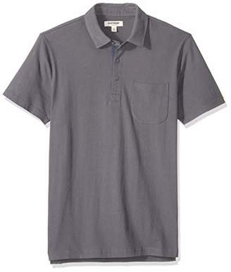 Goodthreads Men's Short-Sleeve Sueded Jersey Polo,XXX-Large Tall