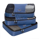 eBags Large Packing Cubes - 3pc Set (Denim)
