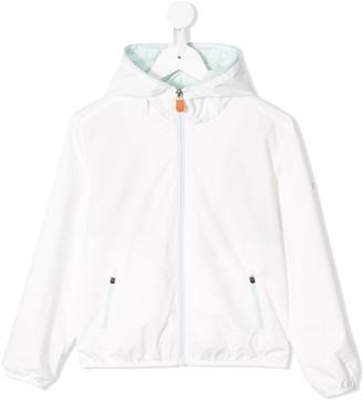 Save The Duck Kids Hooded Rain Jacket
