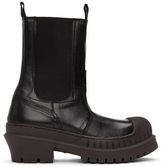 Acne Studios Black Bryant Chelsea Boots
