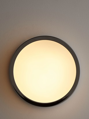 John Lewis & Partners Edge LED Flush Bathroom Spotlight, Chrome